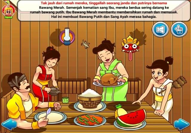 Naskah Drama Cerita Rakyat Bawang Merah Bawang Putih Kakak Pintar